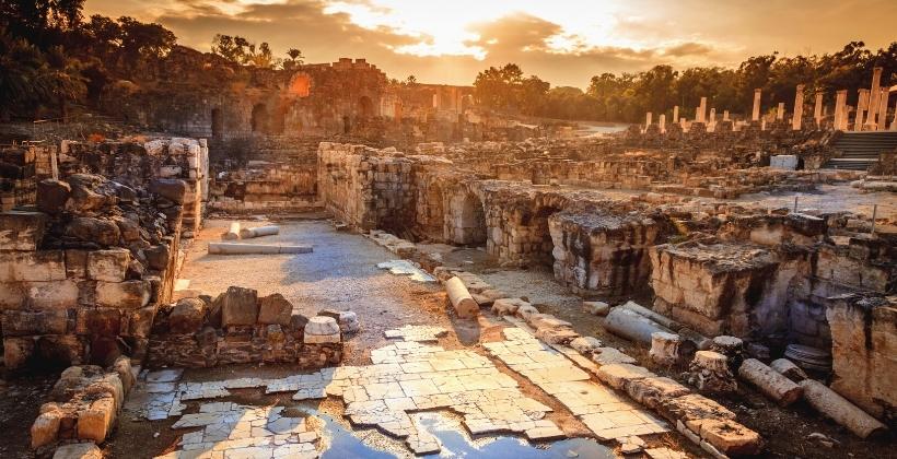 עופר לוין: תוצאות חפירות ארכיאולוגיות בבית שאן